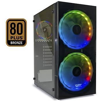 DarkFlash BF1 650W 80+Br RGB Mid Tower Kasa