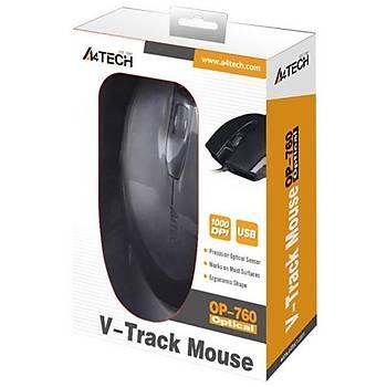 A4 Tech OP-760 1000DPi V-Track USB Mouse
