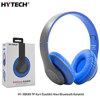 Hytech HY-XBK85  Mavi Bluetooth Kulaklýk