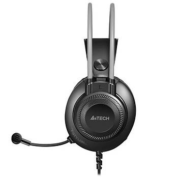 A4 Tech FH-200U Mikrofonlu Gri USB Kulaklýk