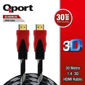 Qport Q-HDMI30 30m Hdmi Kablo