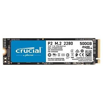 Crucial P2 500GB SSD m.2 NVMe PCIe CT500P2SSD8