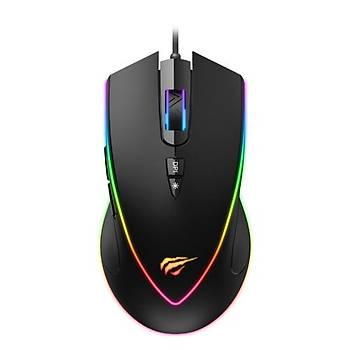 GameNote MS1017 Kablolu RGB Gaming Mouse Siyah