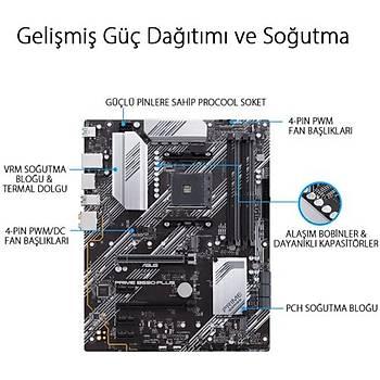 Asus PRIME B550-PLUS DDR4 S+V+GL AM4