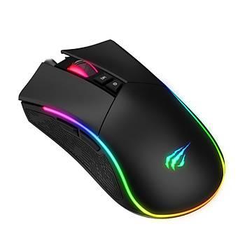 Gamenote MS1001 Kablolu Gaming Mouse Siyah
