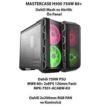 Cooler Master H500 750W 80+ RGB Mid Tower Kasa