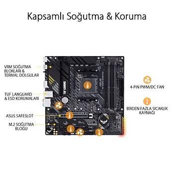 Asus TUF GAMING B550M-PLUS DDR4 S+V+GL AM4