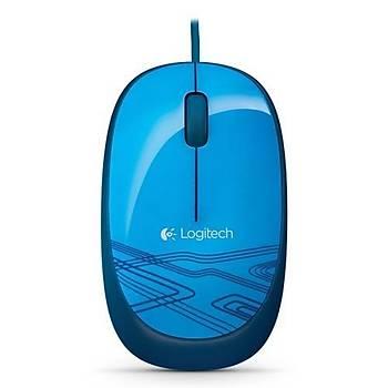 Logitech M105 USB Mouse Mavi 910-003114