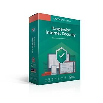 Kaspersky Internet Security - 2 Kullanýcý DVD Kutu