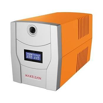 MAKELSAN LION X 2200VA  LCD/USB (2x 9AH)  4-8dk