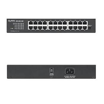 Zyxel GS1100-24E 24Port 10/100/1000 Gigabit Switch