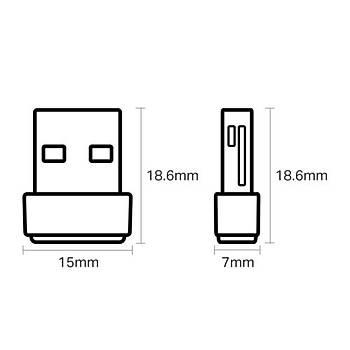 TP-Link Archer-T2U-Nano AC600 USB Adaptör