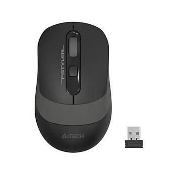 A4 Tech FG10S Kablosuz Silent Mouse Gri - 2000DPI