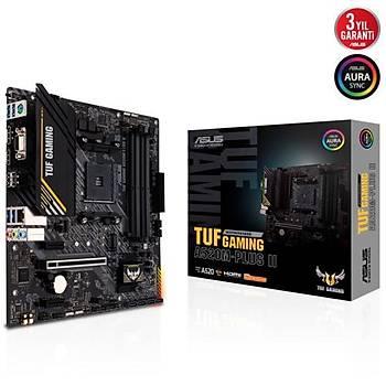 Asus TUF GAMING A520M-PLUS II DDR4 S+V+GL AM4