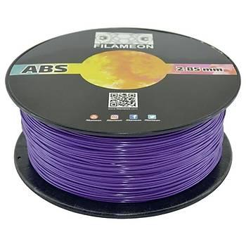 FILAMEON ABS HighFlow Filament Mor Renk