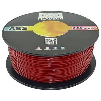 FILAMEON ABS HighFlow Filament Bayrak Kýrmýzý Renk