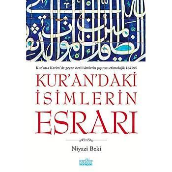 Kur'an'daki Ýsimlerin Esrarý