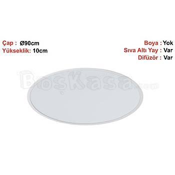 Davul (Çember) Aydýnlatma Sýva Altý Boþ Kasa / Çap : 90cm / Yükseklik : 10cm