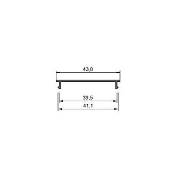 52mm Lineer Profil Aksesuar - Týrnaklý Led Montaj Kýzaðý