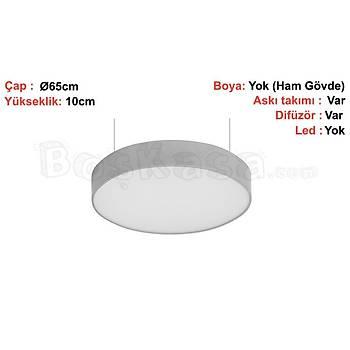 Davul (Çember) Aydýnlatma Sarkýt Boþ kasa / Ø65cm / Yükseklik : 10cm