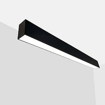 Lineer Aydýnlatma Sýva Üstü / Uzunluk : 200cm / Geniþlik : 52mm / Yükseklik : 82mm