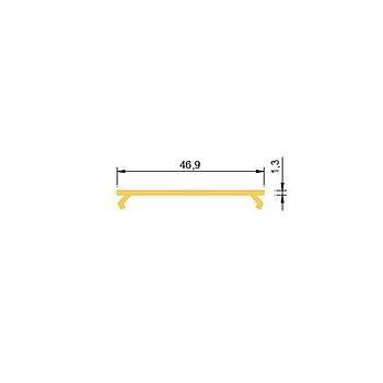 52mm Lineer Profil Aksesuar -  Opal Difüzör