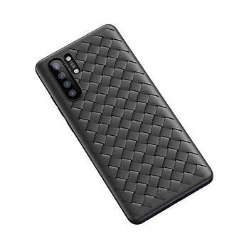 Baseus Weaving Serisi Huawei P30 Pro Kýlýf Siyah