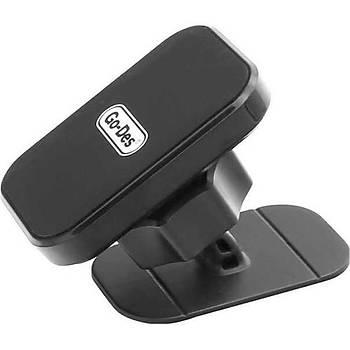 Go Des HD 608 Manyetik Telefon Araç Tutucusu Siyah