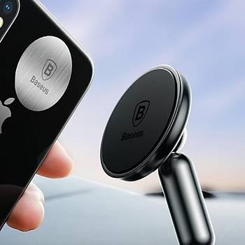 Baseus Evrensel Araç içi Ve Masaüstü Manyetik Telefon Tutucu Gri