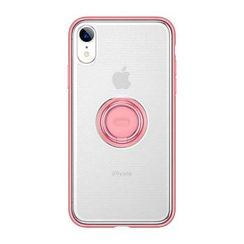 Baseus Dot Bracket Serisi iPhone XS Max 6.5 Kýlýf Pembe