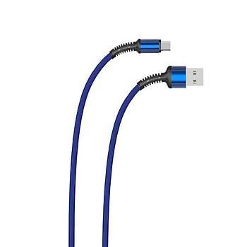 Zore LS65 Lightning iPhone Hýzlý Þarj Data 3 Metre 2.4A Siyah