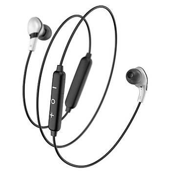 Baseus Encok S04 Manyetik Kablosuz Bluetooth V4.1 Kulaklýk Siyah