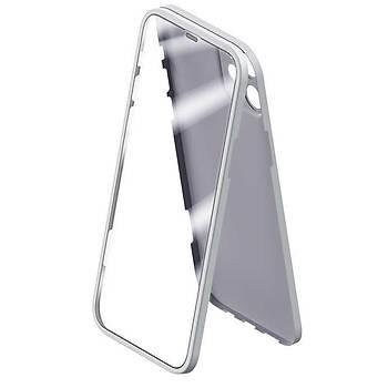 Benks Ýphone 12/12 Pro Uyumlu 360 Koruma Protective 0,3MM Kýlýf Beyaz