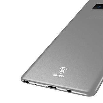 Baseus Samsung Galaxy Note 8 Wing Þeffaf Slikon Kýlýf Beyaz