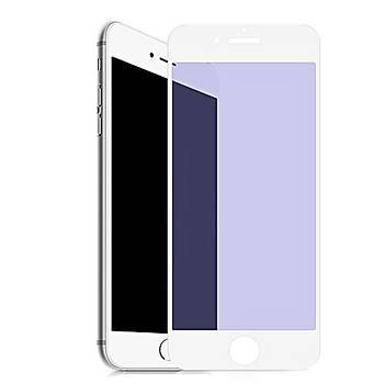 Piili Anti BlueLight iPhone 6/6S/7/8 Plus Mat Cam Ekran Koruyucu