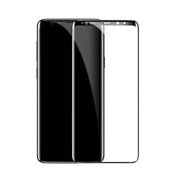 Baseus Galaxy S9 0,3mm 3D Kavisli Tam Kaplayan Cam Ekran Koruyucu