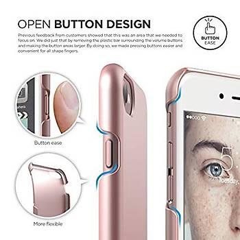 Elago Apple iPhone 7 / iPhone 8 Slim Fit 2 Jean Indigo Kýlýf Gold