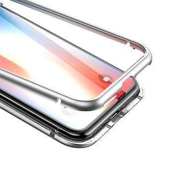 Baseus iPhone X/XS 5.8 360 Derece Koruma Mýknatýslý Kýlýf