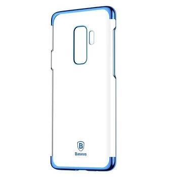 Baseus Glitter Serisi Samsung Galaxy S9 Plus TPU Kýlýf Mavi