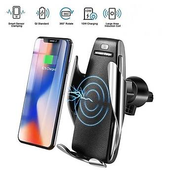 Smart Sensor S5 Araç Ýçi Wireless Þarj ve Telefon Tutacaðý