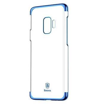 Baseus Glitter Serisi Samsung Galaxy S9 TPU Kýlýf Mavi
