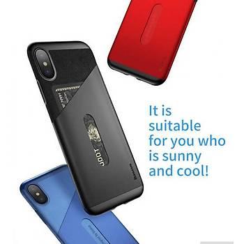 Baseus Card Pocket Serisi iPhone X/XS 5,8