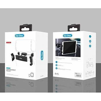 Go Des  Magnetic Car Holder Araç Telefon Tablet Tutucu Koltuk Arkasý