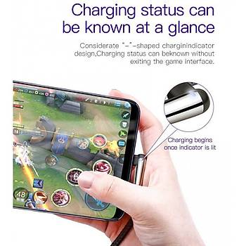 Baseus Mvp 1.5A Micro Usb Mobil Oyun Data Þarj Kablosu 2M Kýrmýzý