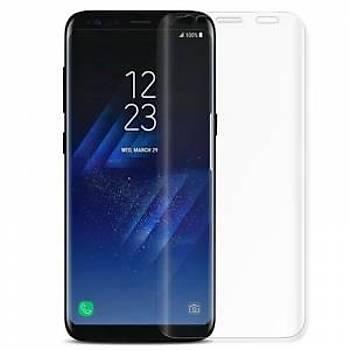 Piili 4D Full Screen 4 Katmanlý Galaxy S9 Plus Ekran Koruyucu