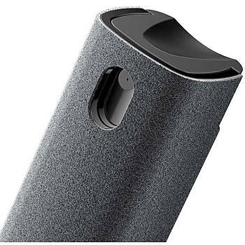 Baseus One-Piece Ekran Temizleme Seti Tek Parça Siyah