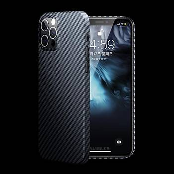 Benks Aramid Apple iPhone 12/12 Pro Carbon Kýlýf
