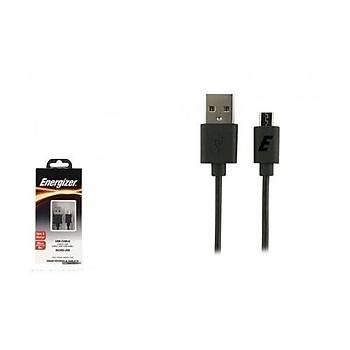 Energizer Micro USB Araç Þarj Cihazý Siyah
