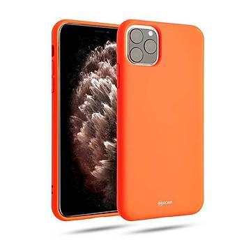 Roar All-Day Jelly Serisi Full Koruma iPhone 11 Pro Max Kýlýf Pembe