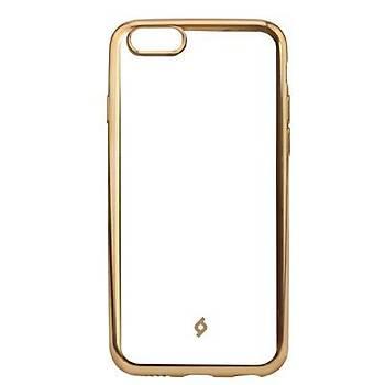 Ttec ChromeClear Apple iPhone 8 Plus / iPhone 7 Plus Kýlýf Altýn